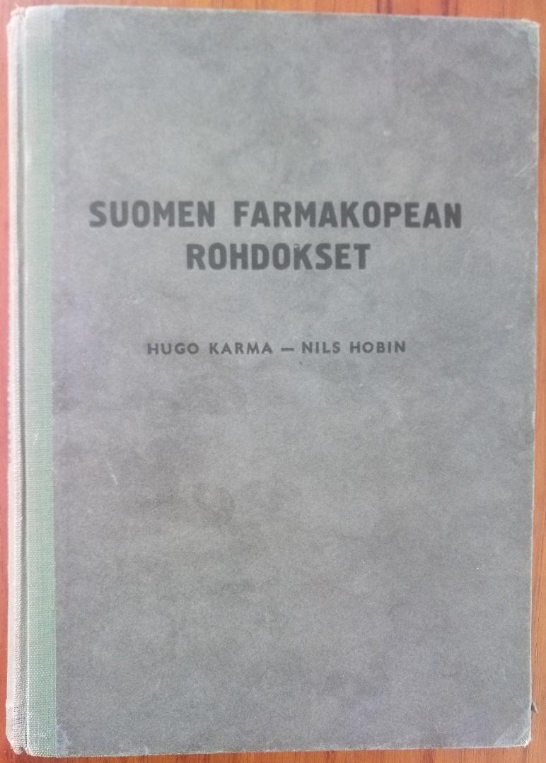 Suomen farmakopean rohdokset